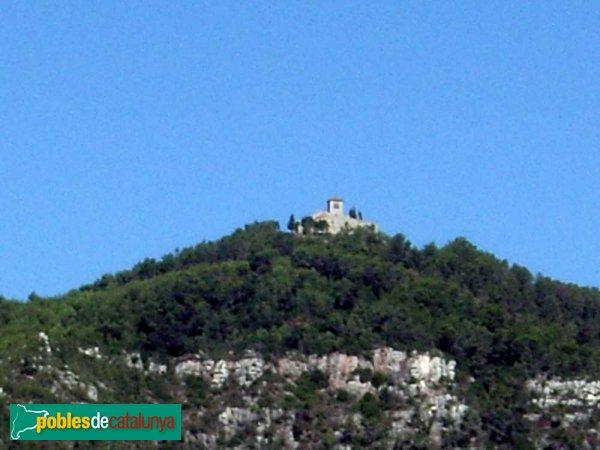 El Puig de la Creu, vist des de Can Palau