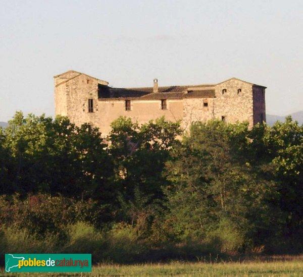El Castell vist des del camí de Can Ramoneda