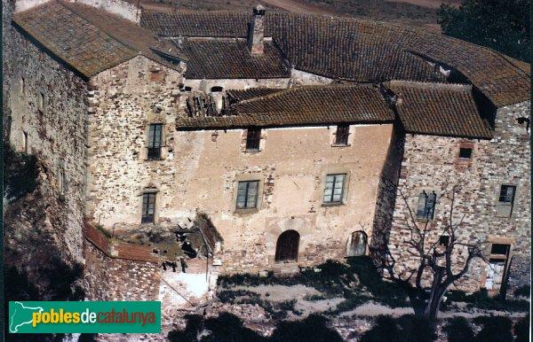 Foto aèria del castell