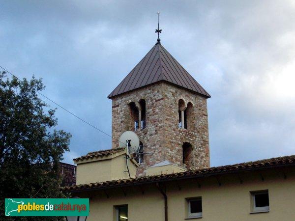 Campanar, vist des de l'església