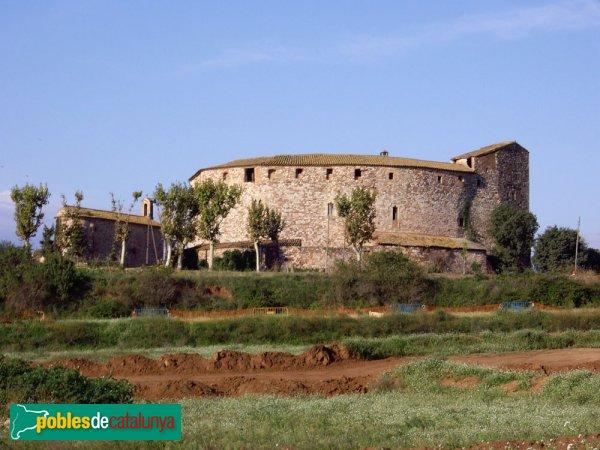 El Castell vist des de la banda de llevant