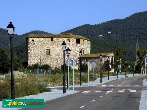 El Castell vist des del carrer de Climent Humet