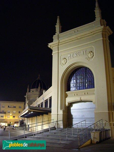 El Mercat, de nit