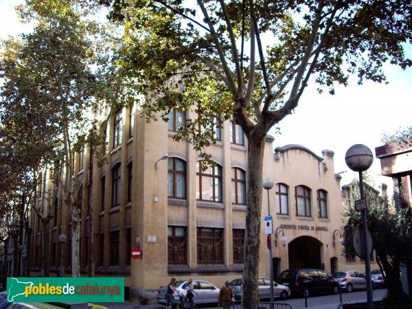 Fàbrica Sallarès Deu (seu social de la Companyia d'Aigües de Sabadell)