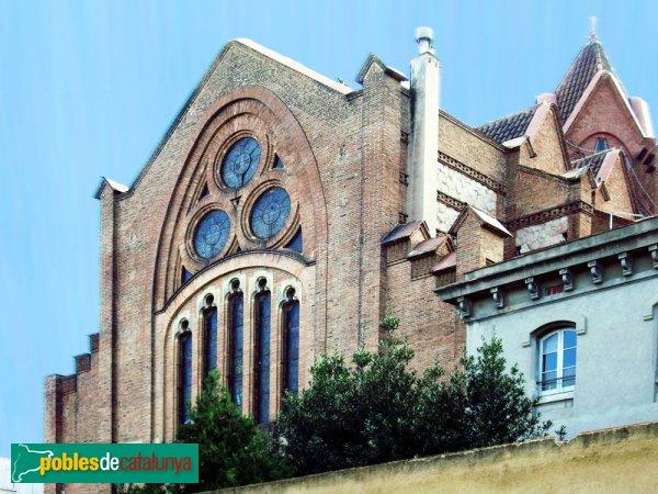 Església de Sant Agustí, part del darrere