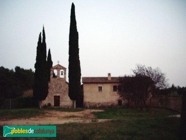 L'Ermita de Togores, al capvespre
