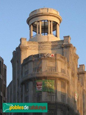 Barcelona - Via Laietana, edifici Sindicats