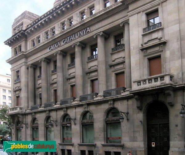 Barcelona - Edifici Caixa Catalunya