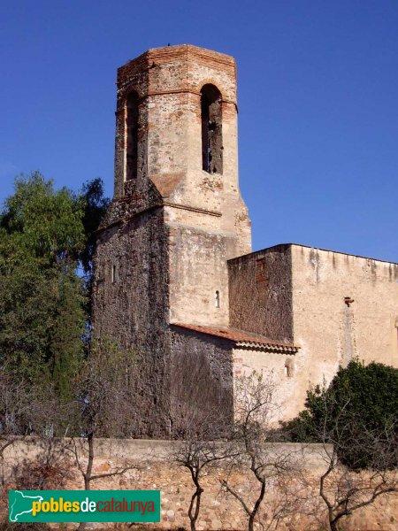 Sant Julià d'Altura, detall de la torre