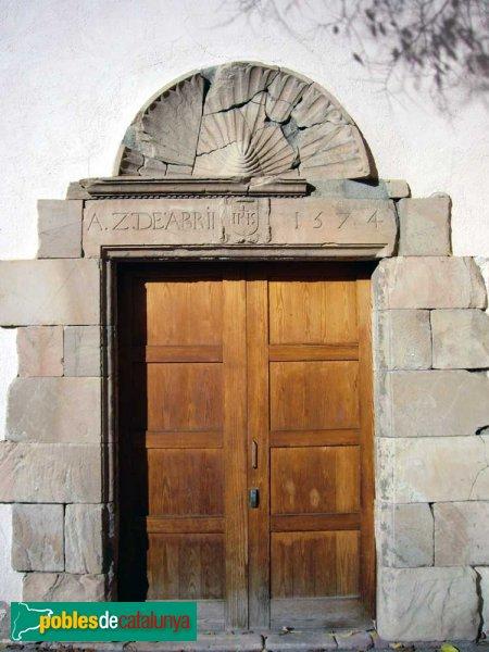 Sant Vicenç de Jonqueres, porta