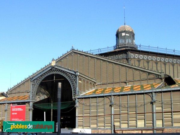 Barcelona - Mercat del Born, abans de la restauració