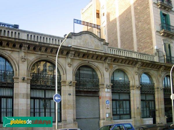 Metr nom barcelona el born pobles de catalunya for Hoteles en el born de barcelona
