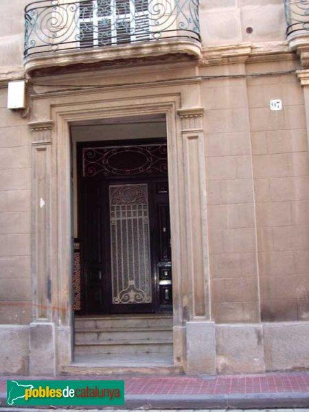 Casa Brujas, porta d'entrada