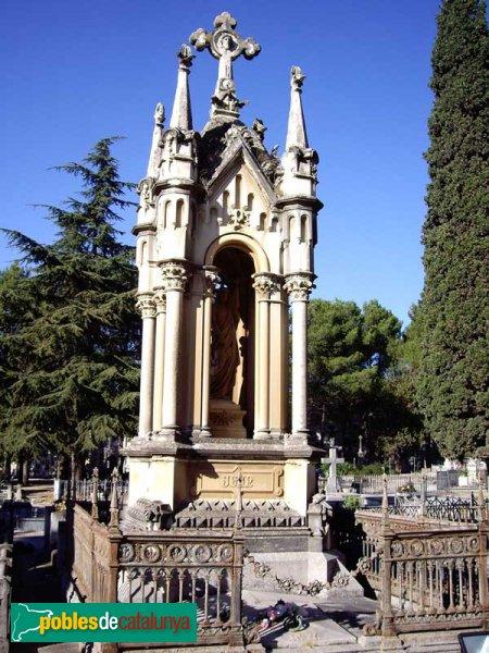 Panteó al cementiri de Sant Nicolau