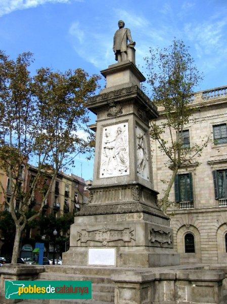 Resultat d'imatges de monument antonio lopez barcelona