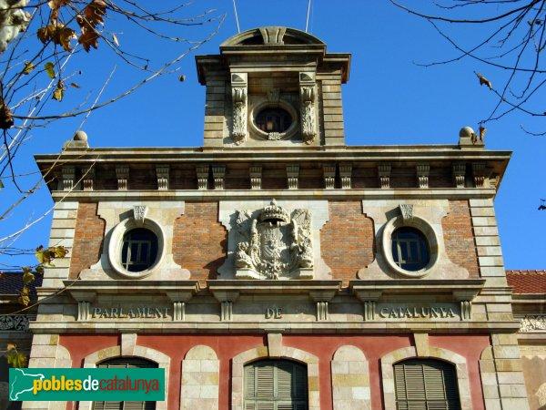 Barcelona - Parc de la Ciutadella - Parlament de Catalunya