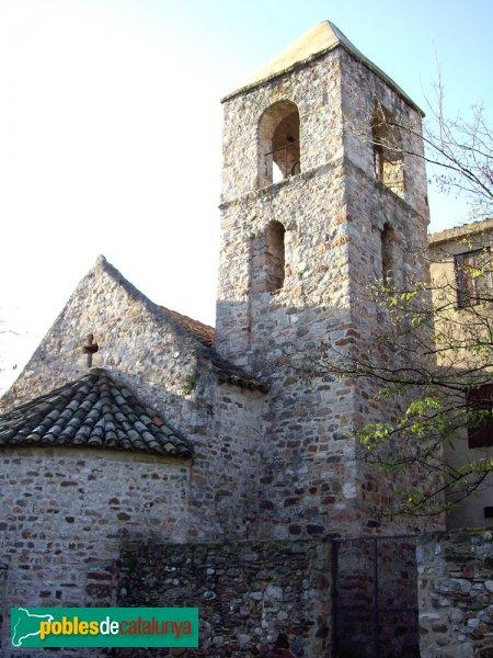 Sant Pau de Riu-sec, vista del campanar i l'absis