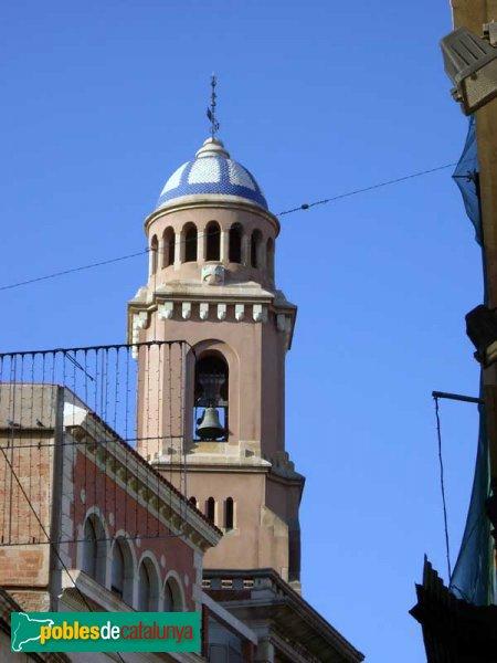 Església de la Puríssima, detall de la torre