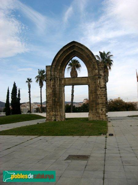 Sant Adrià del Besòs - Arc gòtic