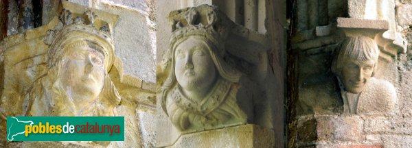 Badalona - Sant Jeroni de la Murtra - Mènsules Reis Catòlics i Colom