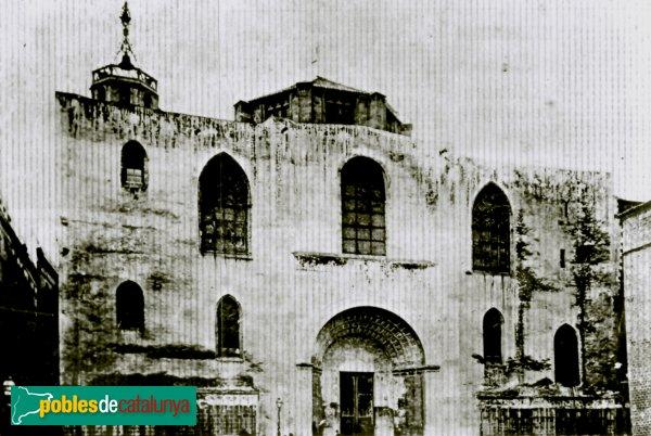 Barcelona - Antiga façana de la catedral