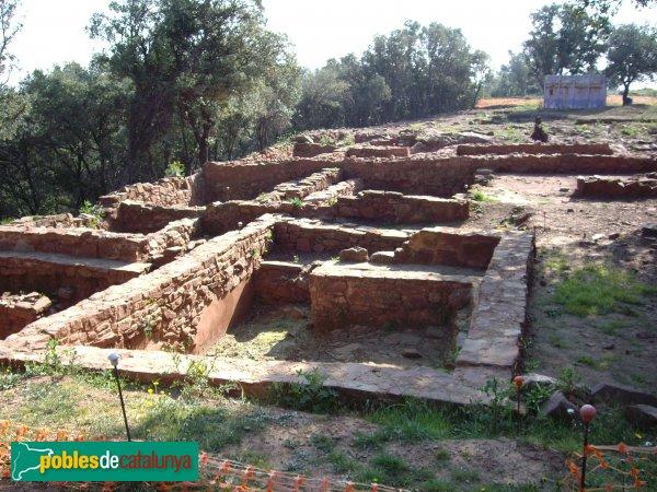 El poblat ibèric de la Torre Roja, jaciment arqueològic