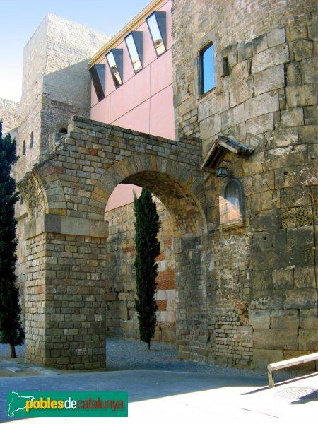 Barcelona - Arrencada de l'aqüeducte