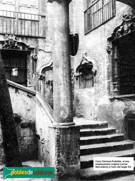 Barcelona - Casa Padellàs a l'emplaçament original
