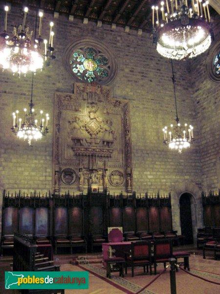 Barcelona - Casa de la Ciutat - Saló de Cent