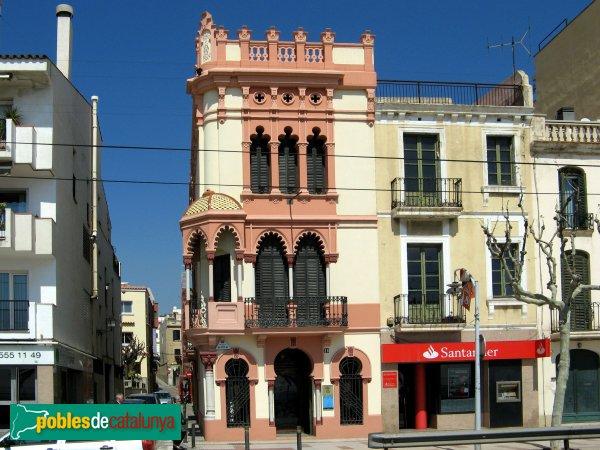 El Masnou - Casa Sensat Pagès