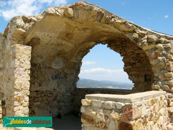 Cabrera de Mar - Castell de Burriac - Capella de Sant Vicenç