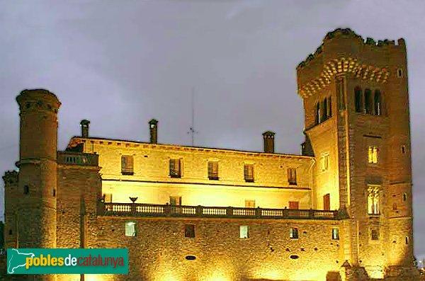 Castell de Can Feu: de nit