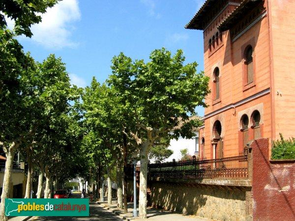 Argentona - Passeig Baró de Viver