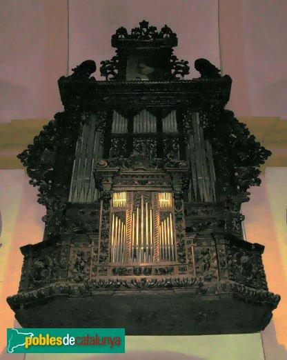 Torredembarra - Sant Pere  - Orgue