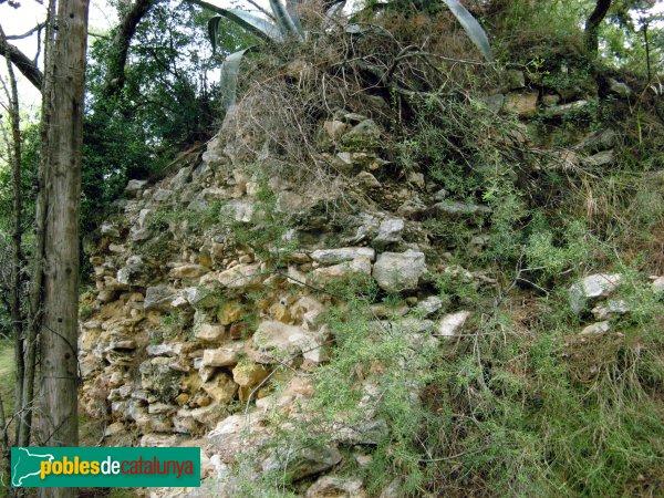La Pobla de Montornès - Ruïnes del castell