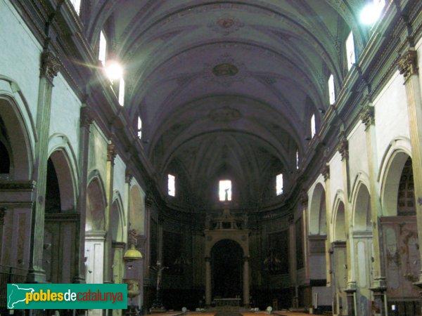 Mataró - Basílica de Santa Maria - Interior