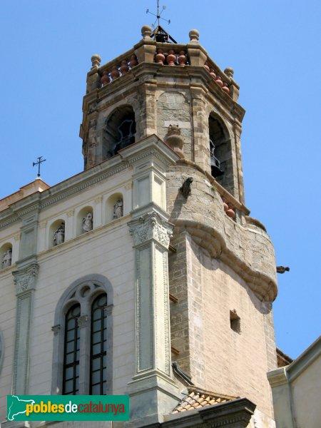 Mataró - Basílica de Santa Maria - Campanar