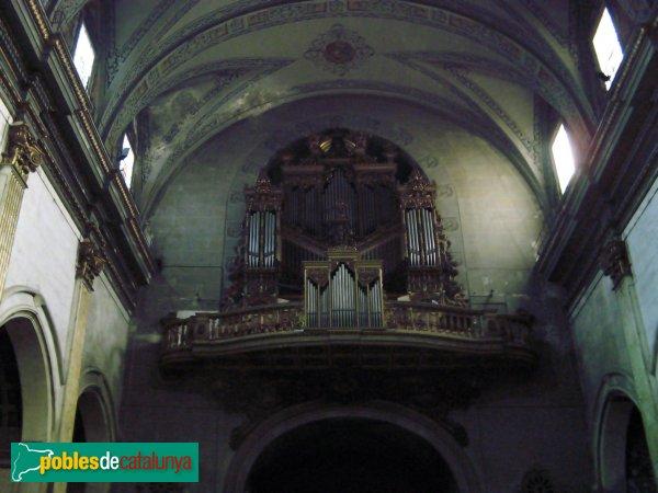 Mataró - Basílica de Santa Maria - Orgue