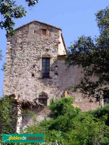 Castell de Sentmenat, esquerra