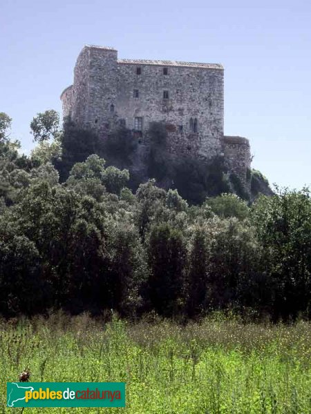 Castell de Sentmenat, cara nord