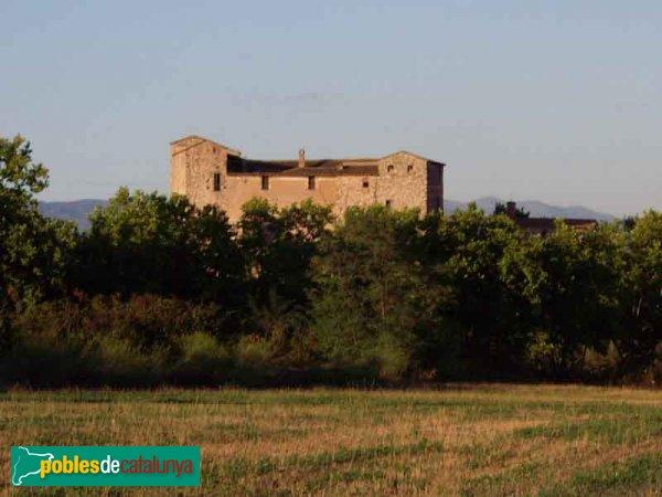 El Castell, vist des del camí de Can Ramoneda