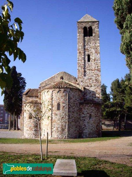 Barberà del Vallès - Santa Maria de Barberà , vista de l'absis