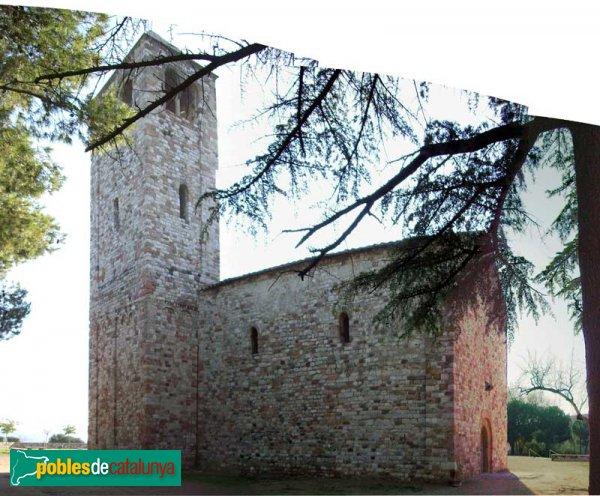 Barberà del Vallès - Santa Maria de Barberà , panoràmica cara nord