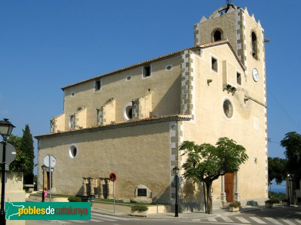 Sant Vicenç de Montalt - Església