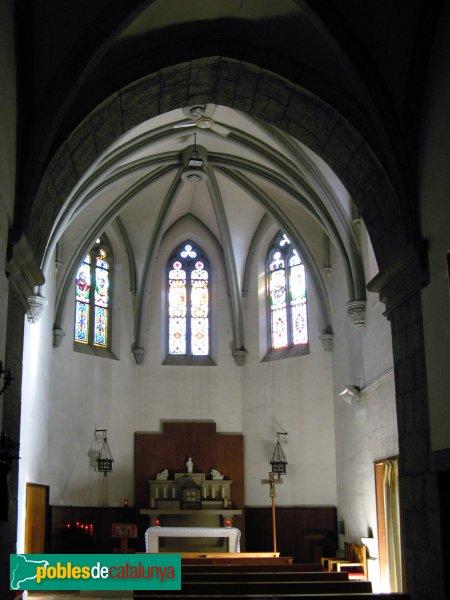 Sant Vicenç de Montalt - Església - Capella lateral