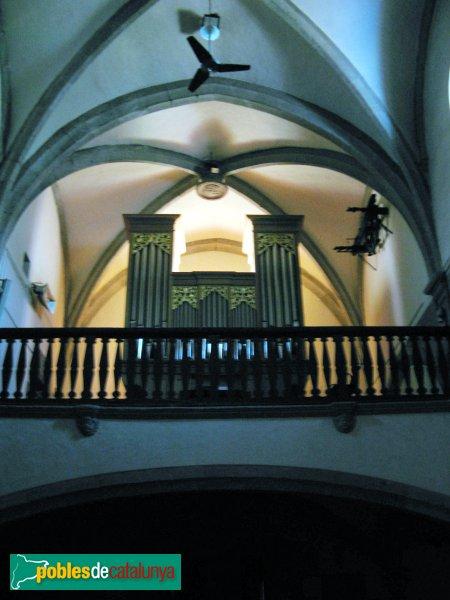 Sant Vicenç de Montalt - Església - Orgue
