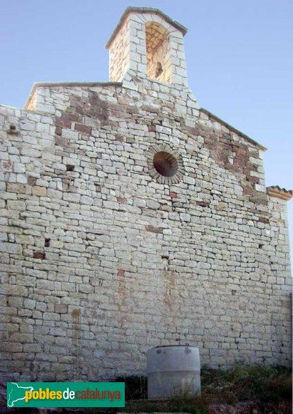 El campanar de l'ermita del Puig de la Creu