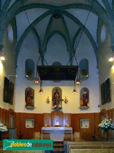 Sant Vicenç de Montalt - Església - Interior