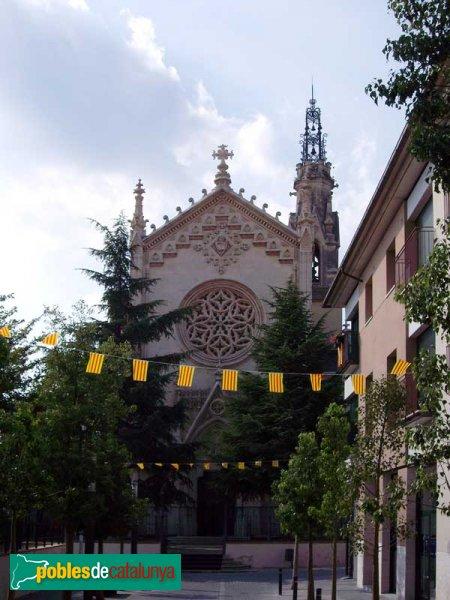 Façana principal de l'Església