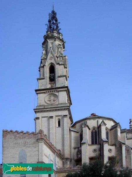 Absis i torre de l'església
